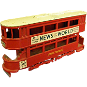1950s Lesney No. 3 Double-Decker Bus
