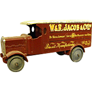 Early Lesney Matchbox W&R Jacob 4 Ton Leyland Truck