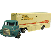 Early Lesney Matchbox Wall's Ice Cream Tractor Trailer Rig Truck