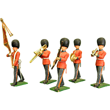 Reserved for Billie Enchanting Britains Ltd Miniature Military Band Figures