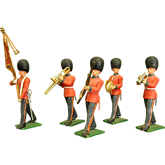 Enchanting Britains Ltd Miniature Military Band Figures