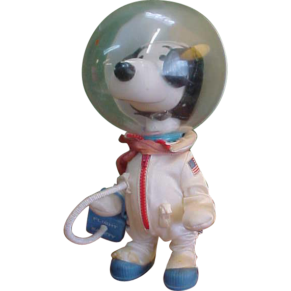 Vintage Astronaut Snoopy Peanuts Character from rubylane ...