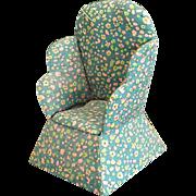 Cute Homemade Wingback Chair Pin Cushion