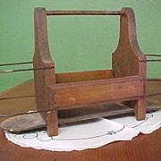 Darling Vintage Wooden Carrier