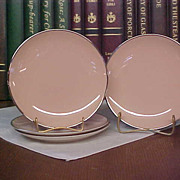 Franciscan Fine China – Encanto Pattern Bread Plates with Platinum Trim