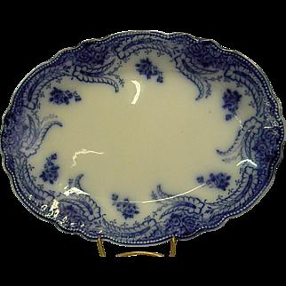 Grindley Flow Blue Platter from 1891-1914