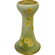 Handpainted Nippon Open Top Hatpin Holder Vase