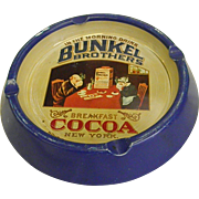 Bunkel Brothers Breakfast Cocoa Metal Ashtray