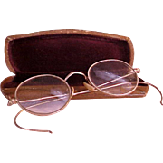 Great-Grandma's Gold Filled Wire Rimmed Eye Glasses