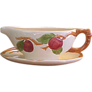 American Franciscan Apple Gravy Boat