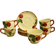 Franciscan American Apple Cup and Saucer
