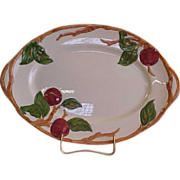 "American Franciscan Apple 12"" Platter"