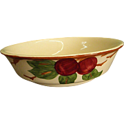 American Franciscan Apple Round Vegetable/Soup Bowl