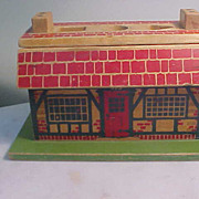 "Vintage Wooden ""This is the House that Jack Built"" Toy by Holgate Toys"