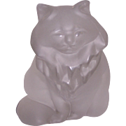 Frosted Crystal Persian Cat Austria 1988 F.M.