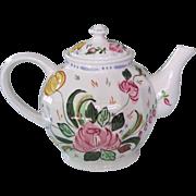 Blue Ridge Pottery  Nove Rose or Verna Teapot