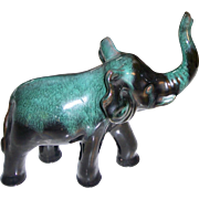 Blue Mountain Pottery Large Elephant Figure
