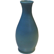 Van Briggle Pottery Original Hand Thrown Turquoise Vase