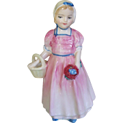 Royal Doulton Tinkle Bell Young Girl Figurine