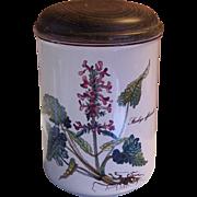 "Villeroy & Boch Botanica Storage Jar Stachys Officinalis 6"" - Red Tag Sale Item"