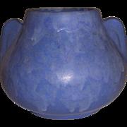 McCoy Pottery Blue Art Vellum Vase