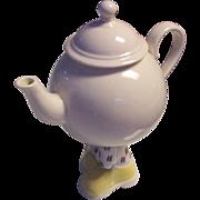 Carlton Ware England Walking Teapot Lustre Pottery