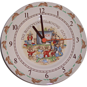 Royal Doulton Bunnykins Teaching Clock