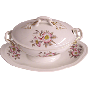 Antique French Limoges Sauce Tureen