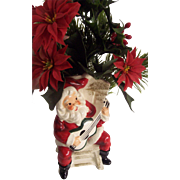 Calart Santa Playing Guitar Planter Japan