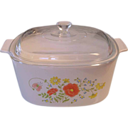 Corning Wildflower 3 Quart Casserole