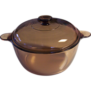 Corning Visions Amber 5 Qt Dutch Oven 4.5 L