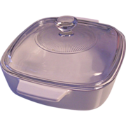 Corning All White 1 L Covered Casserole
