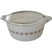 Pyrex Town & Country 2 1/2 Qt Casserole with Lid
