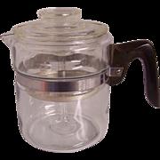 Pyrex Flameware Coffee Percolator Pot