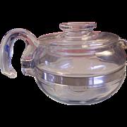 Pyrex Flame ware 6 Cup Teapot 8446B