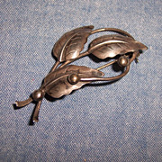 """N.E. FROM ""  Denmark Sterling Brooch"