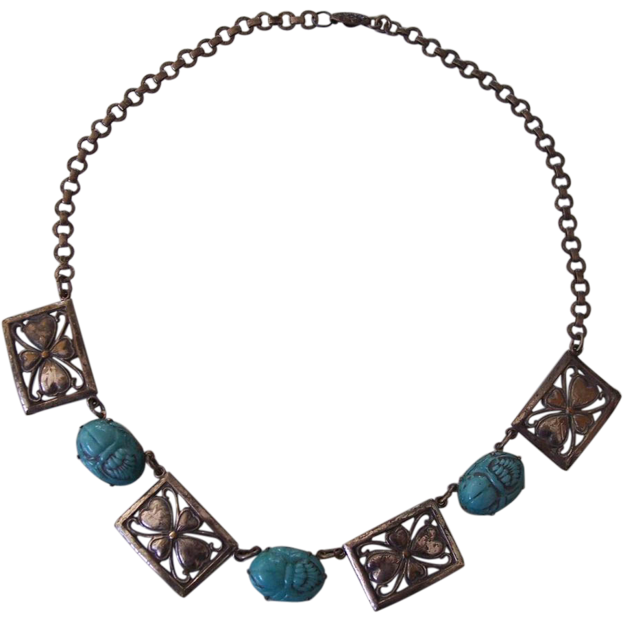egyptian scarab necklace - photo #24