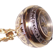 Swiss Made Ball Pendant Watch Sorna