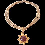Maeve Carr New York Sun or Flower Necklace