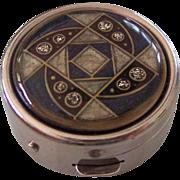 Art DEco Style Pill Box