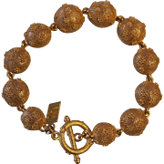 Victoria & Albert Museum Gold Plated Achelous Bracelet