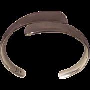 Sleek Sterling Mexican Cuff Bracelet