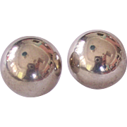 Mexican Sterling Silver Earrings Mexico
