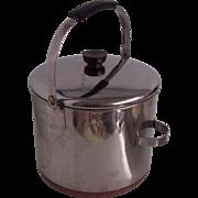 Revere Ware 8 Quart Copper Clad Bale Handle Stock Pot Kettle