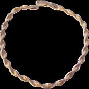Sterling Silver Italian Twist Chain Bracelet