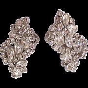 Kramer Layered Sparkling Rhinestones Climbing Earrings