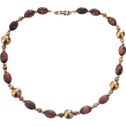 Interesting Napier Beaded Necklace