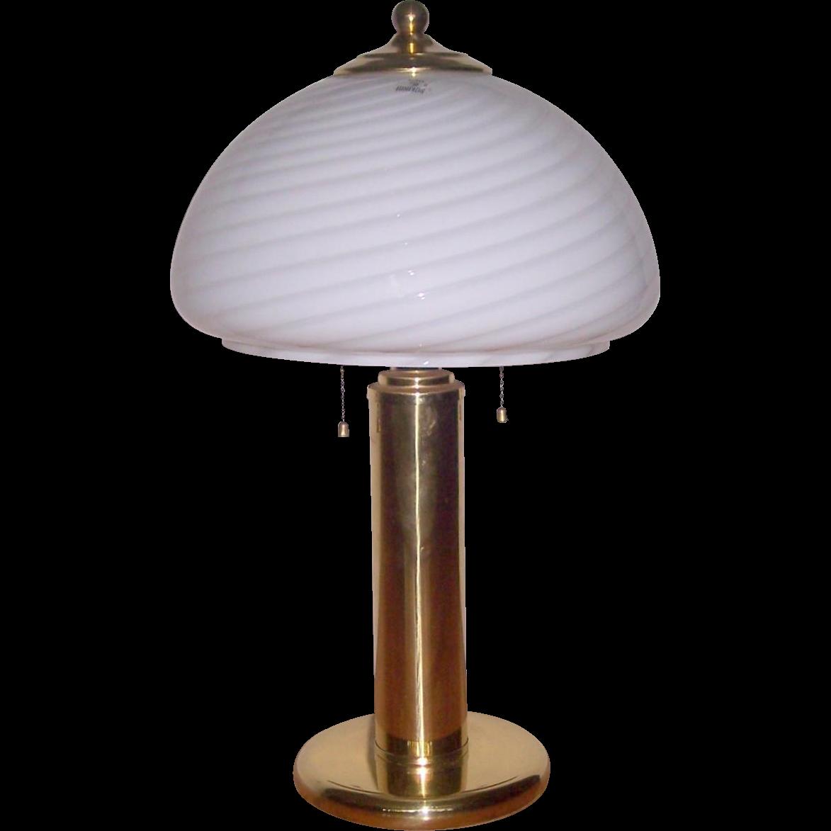 vetri murano venini glass table lamp from modseller on. Black Bedroom Furniture Sets. Home Design Ideas