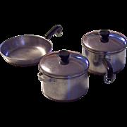 Revere Ware Miniature Copper Clad Pots & Pans Set