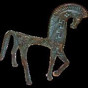Mid Century Frederick Weinberg Style Etruscan Horse
